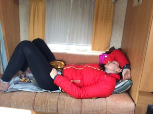 One very tired Roman Soldier at the end of day 3
