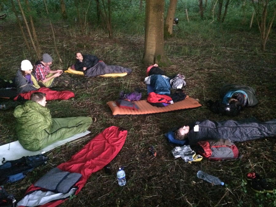 A forest camp fit for Kings and Queens, Henley