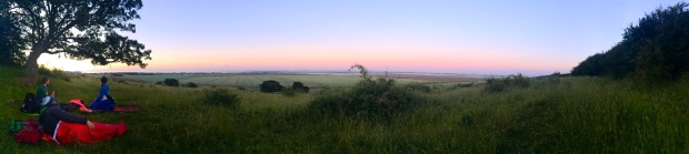 4am in the morning - our Hadleigh hilltop heaven