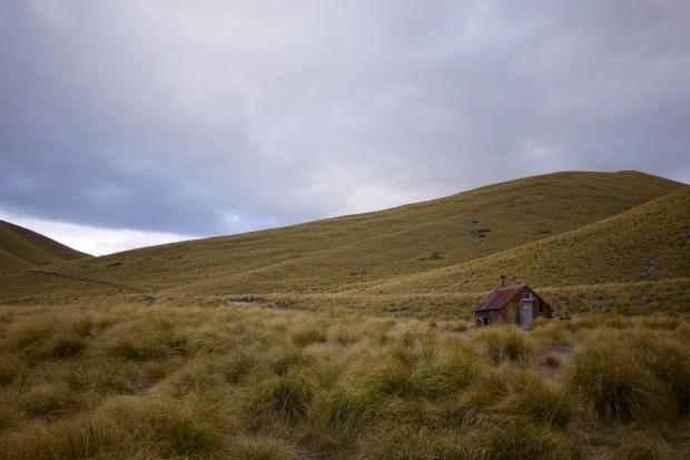 Camp Stream Hut, built in 1898
