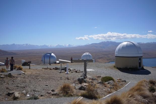 Mt John and the mega telescopes