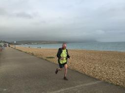 Danny tears up the Weymouth shoreline