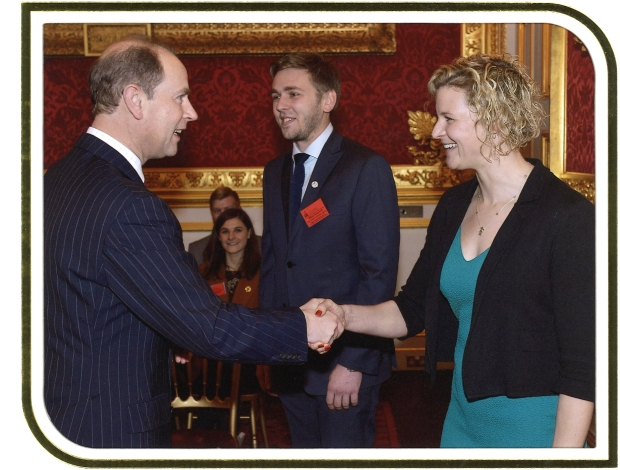 Handshake with the prince - St James' Palace.jpg