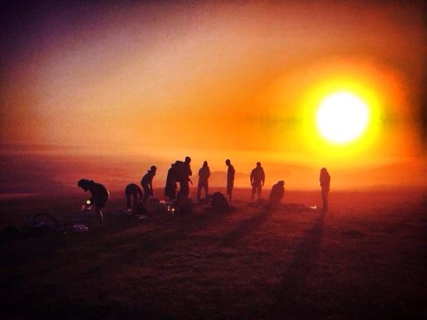 Amazing sunrise shot
