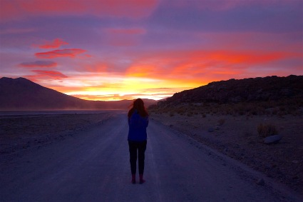 Faye sunset